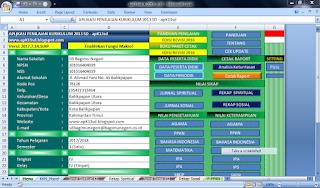aplikasi raport k13 sedernana dan ringan