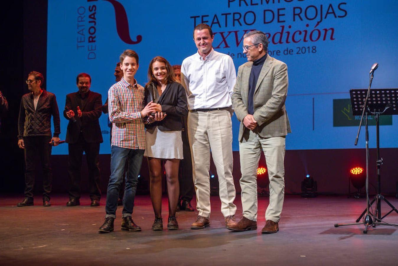 Nos han concedido el Premio Especial Teatro de Rojas 2018