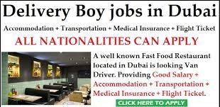 Sales & Delivery Person Recruitment For a New General Trading Company Dubai, UAE