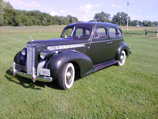 1940 Packard One-Sixty Super Eight