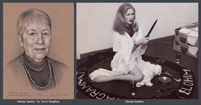 Maxine Sanders. Witchcraft. Alexandrian Wicca. Ceremonial Magick. by Travis Simpkins