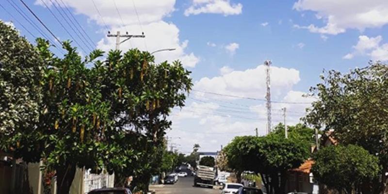 Quinta (20) tem previsão de 33 graus em Cajobi