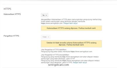 HTTPS Kini Tersedia di Blog Custom Domain (Blogger)