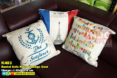 Bantal Sofa Retro Vintage Goni