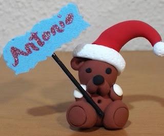 Colgante Oso Navidad