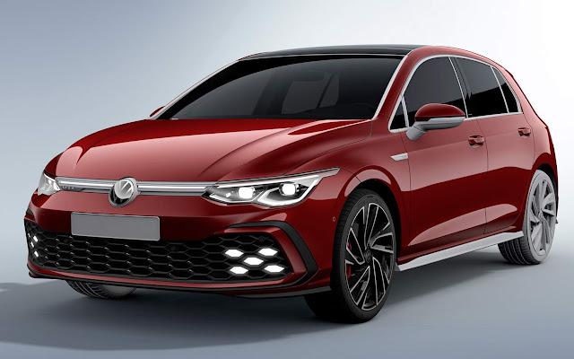 Novo VW Golf GTI 2021 Mk8