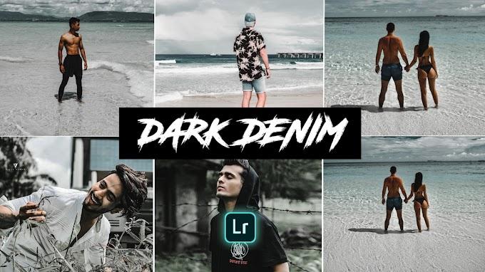 Dark Denim Lightroom presets