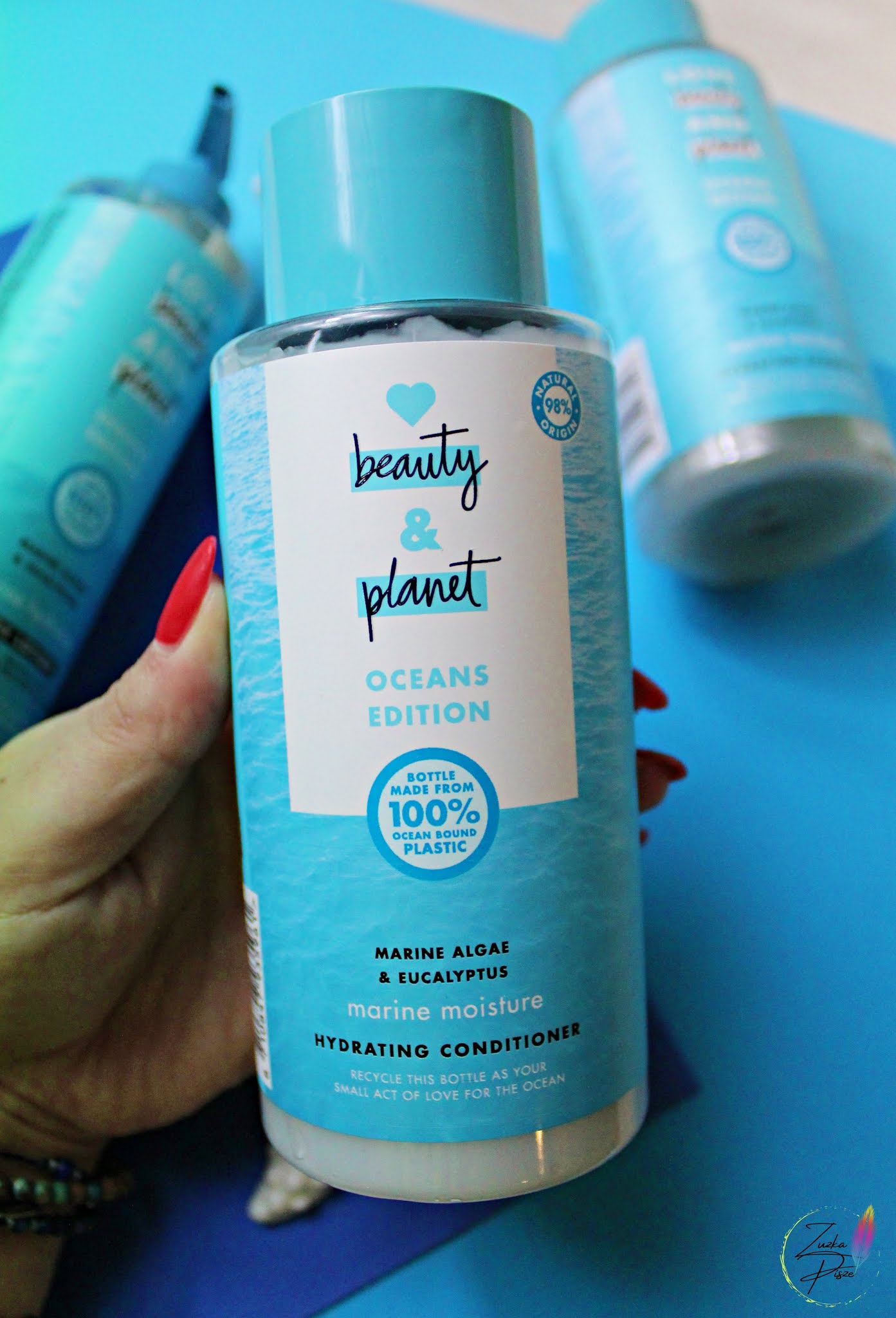 Love Beauty and Planet, Oceans Edition, Marine Moisture, Hydrating Conditioner