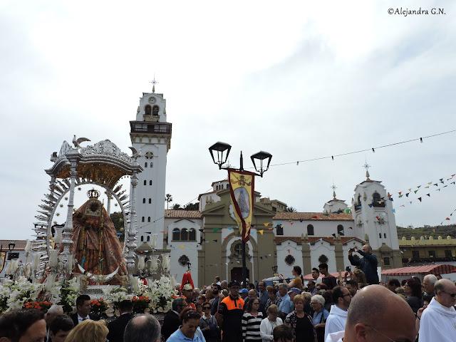 Leyenda guanche: aparición de la Virgen