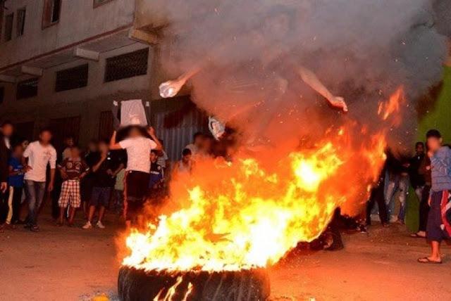 """احتفالات عاشوراء بالمغرب.. عاداتُ احتفالية و""""طقوسُ جاهلية"""" و فوضى عارمة"""