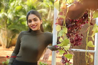 Tollywood Actress Punarnavi Bhupalam Latest Po Gallery in Black Trouser Pant at Pittagoda Movie Interview  0196.JPG