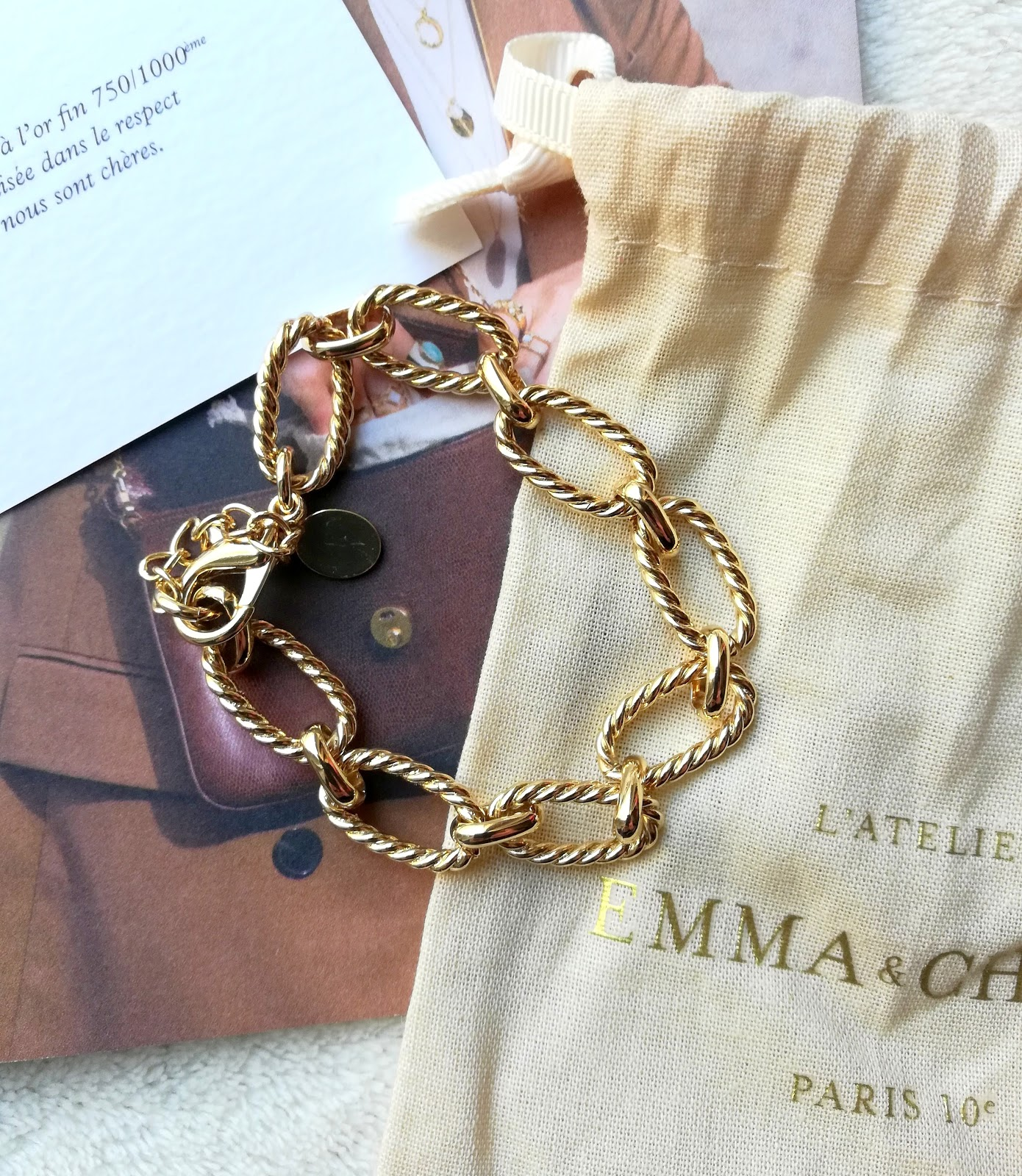 box bijoux de Novembre d'EMMA&CHLOÉ (code promo)