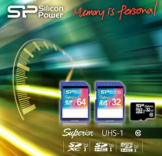 Silicon Power SD 3.0 Superior UHS-1 Flash Cards