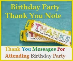 Thank You Messages! : Sample Thank You Messages For Birthday Wishes!
