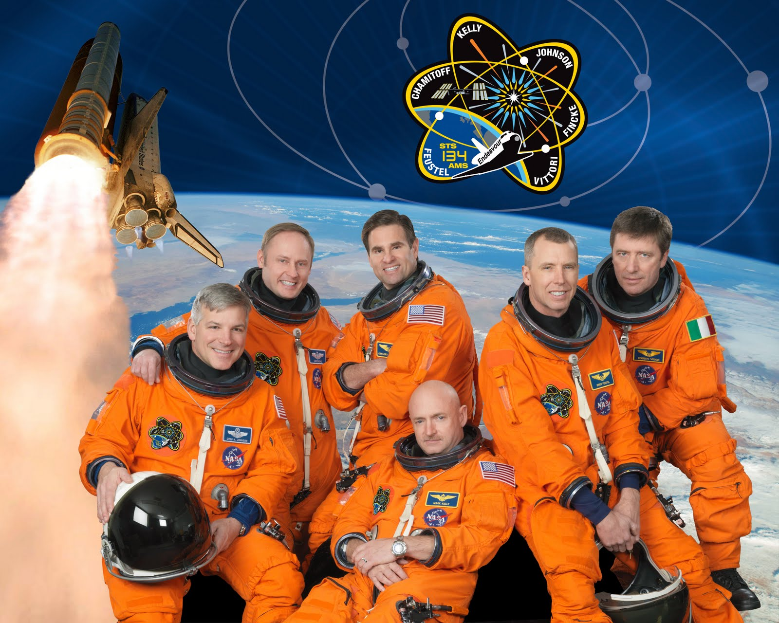 space shuttle endeavour astronauts - photo #1