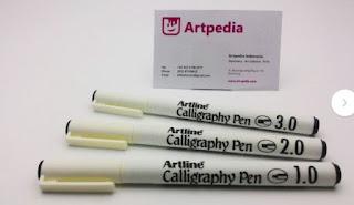 Pulpen Kaligrafi Artline