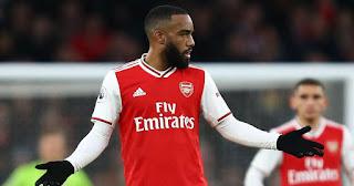 Lyon confirmed January talks with Arsenal striker Lacazette