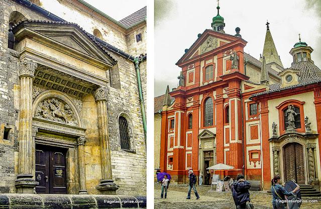 Basílica de São Jorge, Castelo de Praga