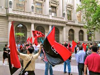 Political Event Santiago Chile