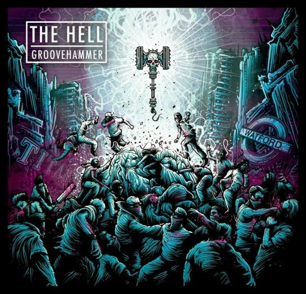 The Hell  - Groovehammer - album - cover