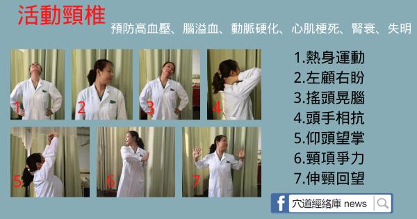 每天5分鐘,7個動作,不讓頸椎病成為高血壓的幫兇(動脈硬化)