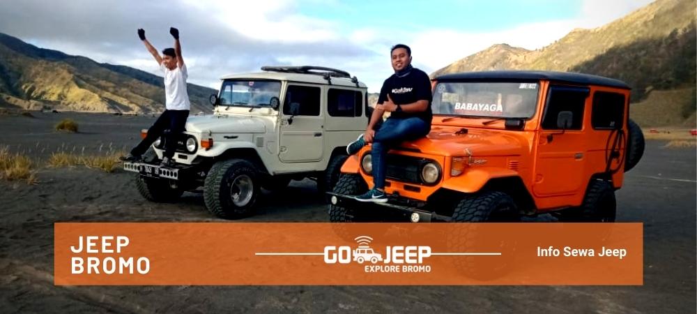 informasi penting sewa jeep wisata gunung bromo