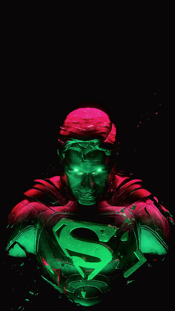 superman amoled wallpaper for phone in 1080 x 1920 pixels
