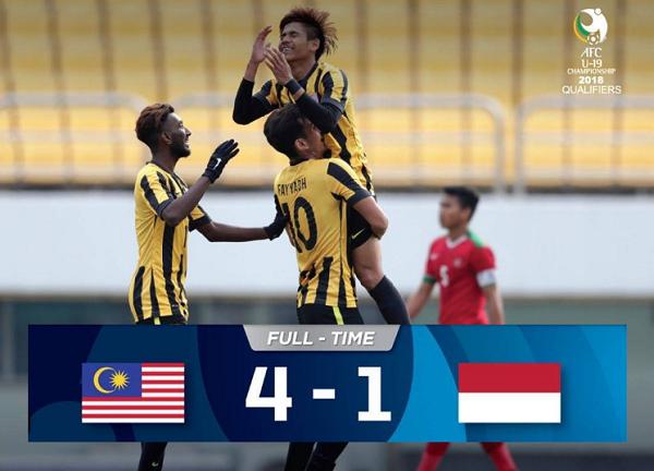 Ini yang Sebabkan Timnas Indonesia U-19 Kalah Telak oleh Malaysia