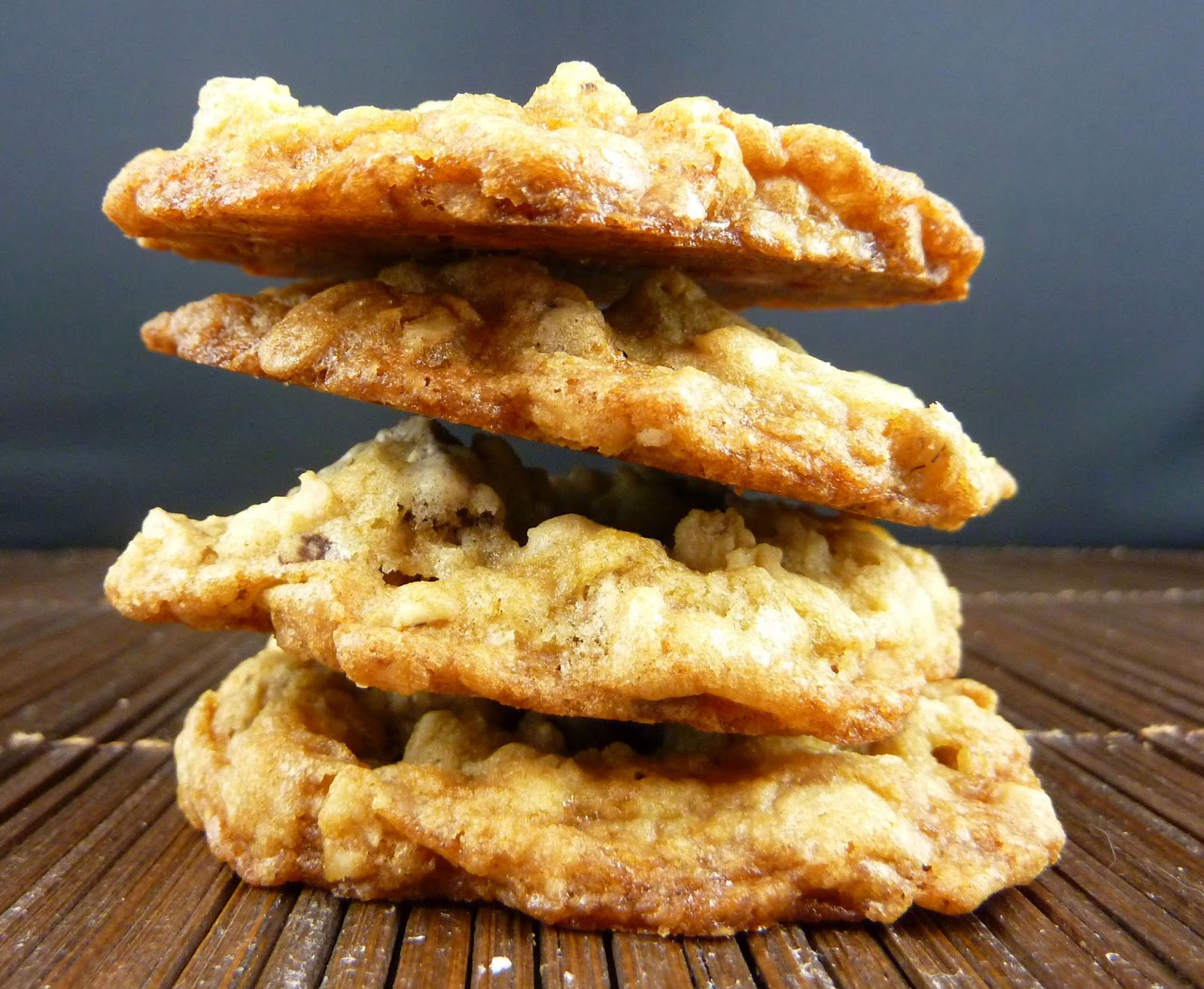 Cookies on Friday: Toffee Oatmeal Chocolate Chunk Cookies
