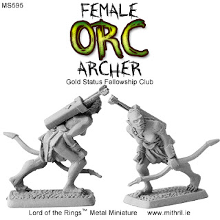 Female Orc Archer