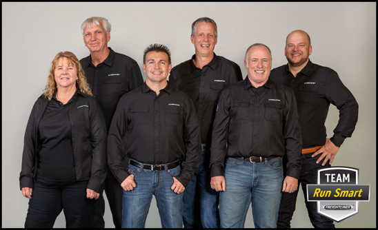 Team Run Smart's new lineup of drivers represents five distinct categories in the trucking profession.