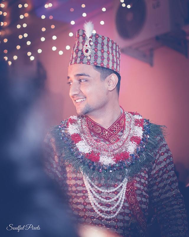 Handsome Nepali Groom