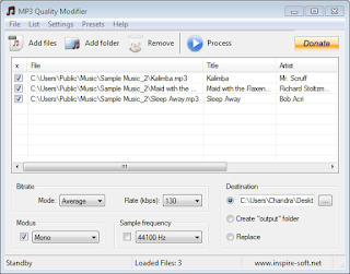 Cara Convert File MP3 Stereo To Mono