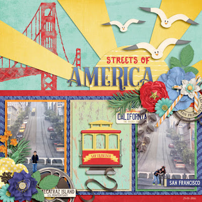 BEST OF CALIFORNIA by Magical Scraps Galore