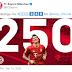 Lewandowski hit 250 Bundesliga goals