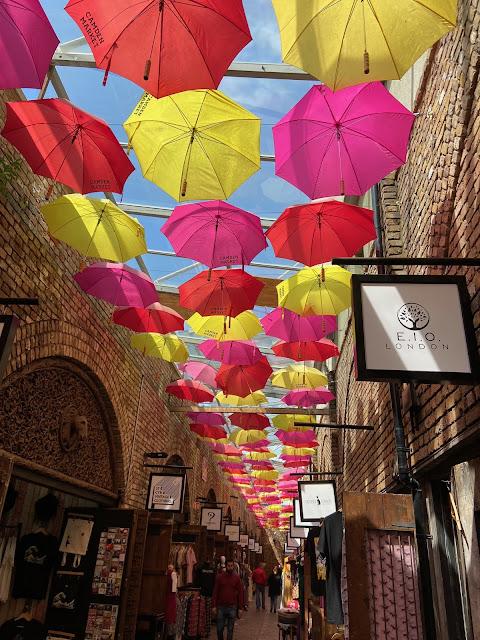umbrellas at camden market