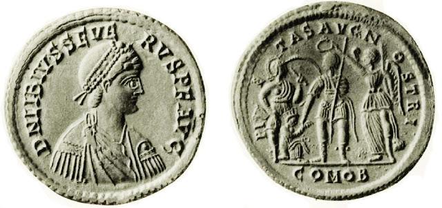 Medallón de Libio Severo