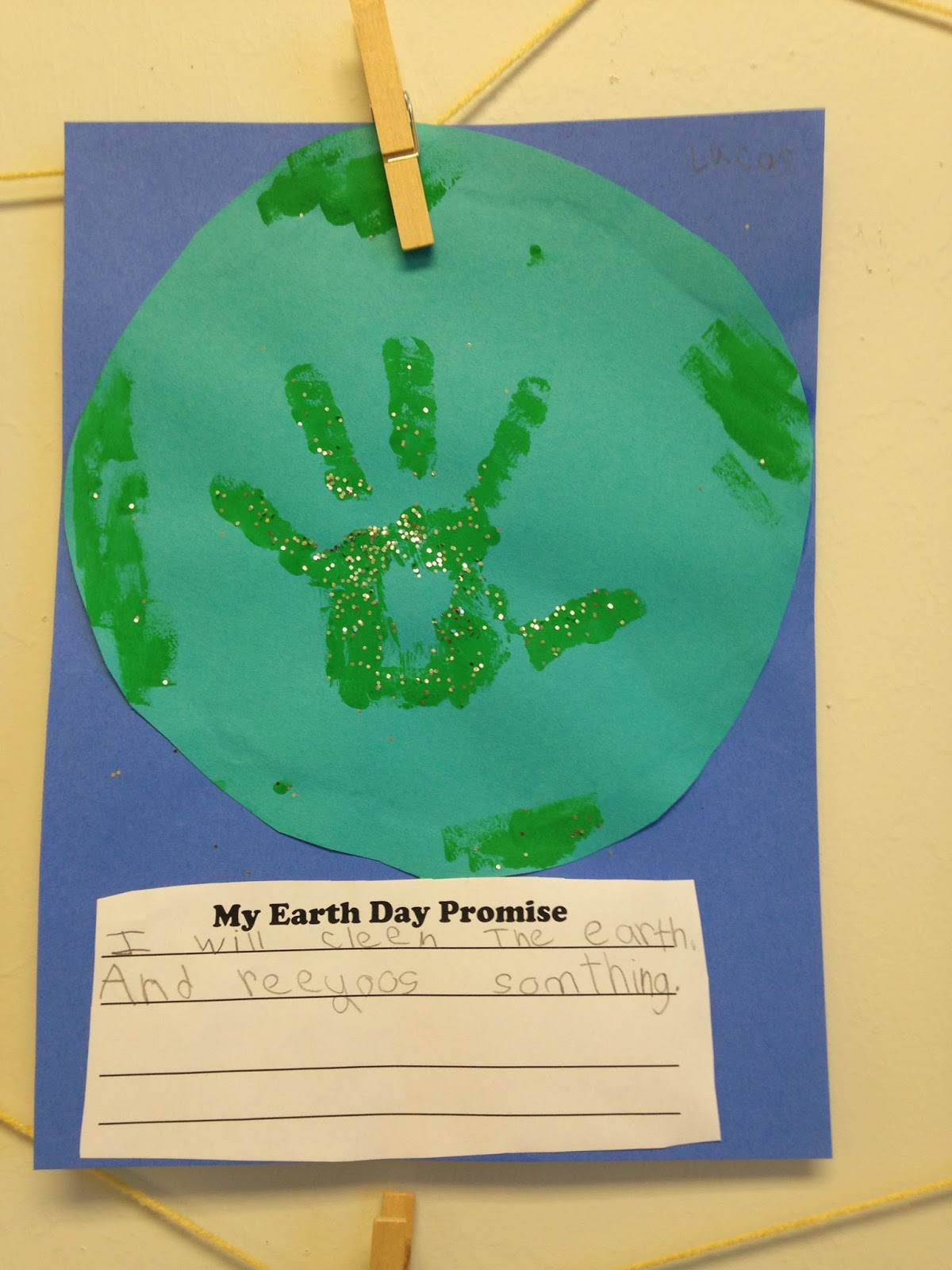 Welcome To Ms W S Kindergarten Class Earth Day