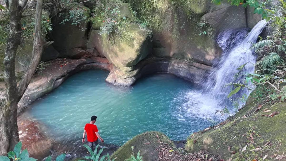 Lokasi Hunting Foto Landscape di Gowa air terjun cinta tersembunyi di kabupaten gowa