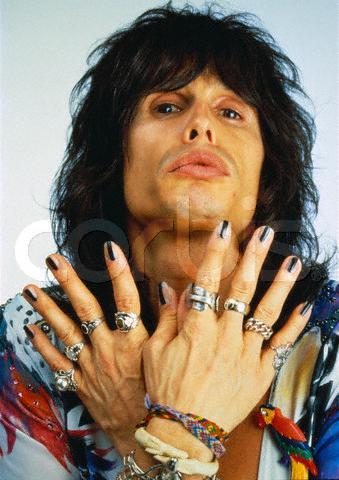 Gussied Steven Tyler Inspired Nails