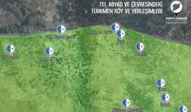 Η Τουρκία εποικίζει κι εγκαθιστά κρατικές υπηρεσίες στις περιοχές που κατέλαβε στην Β. Συρία