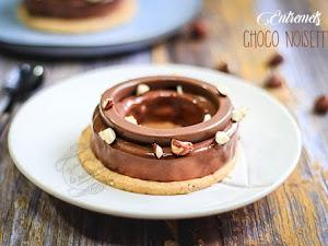 Entremets chocolat noisette