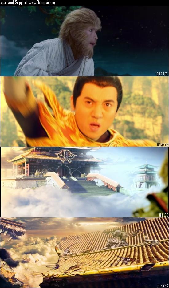 The Monkey King 2014 Dual Audio Hindi 480p BluRay