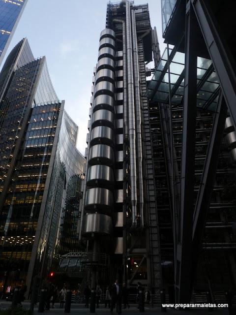 edificio central Lloyd's Londres