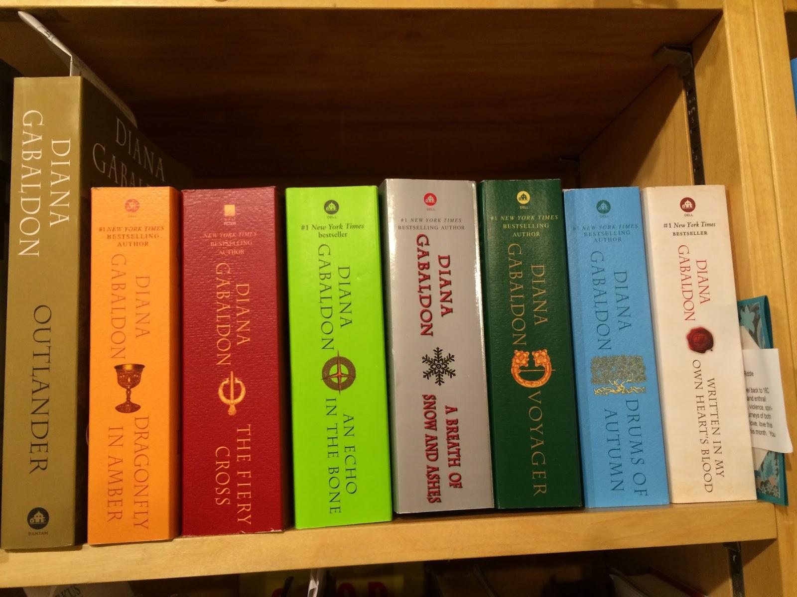 Diana Gabaldon Lovers Will Find All The Outlander Books