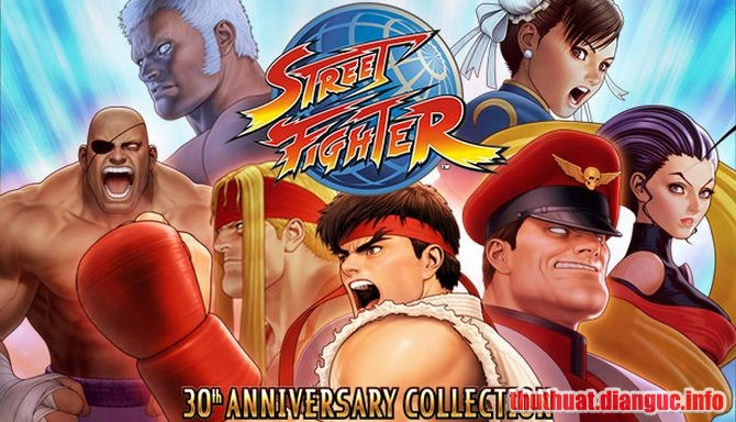 Download Game Street Fighter 30th Anniversary Collection Full Cr@ck