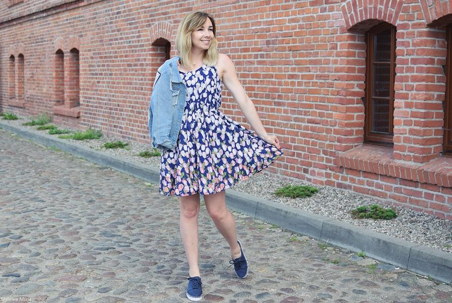 moda, trampki, brilu, sukienka, bonprix.pl, torebka, Butik, stylizacja,
