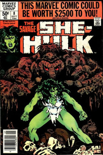 She-Hulk #8, the Man-Thing