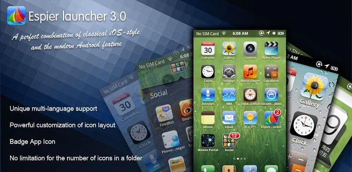 Espier Launcher V3 0 7 Apk Download Free Android Apps