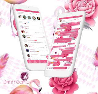 Rosas Theme For YOWhatsApp & Fouad WhatsApp By Driih Santos
